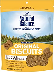 Natural Balance L.I.D. Limited Ingredient Diets Dog Treats (Packaging May Vary)