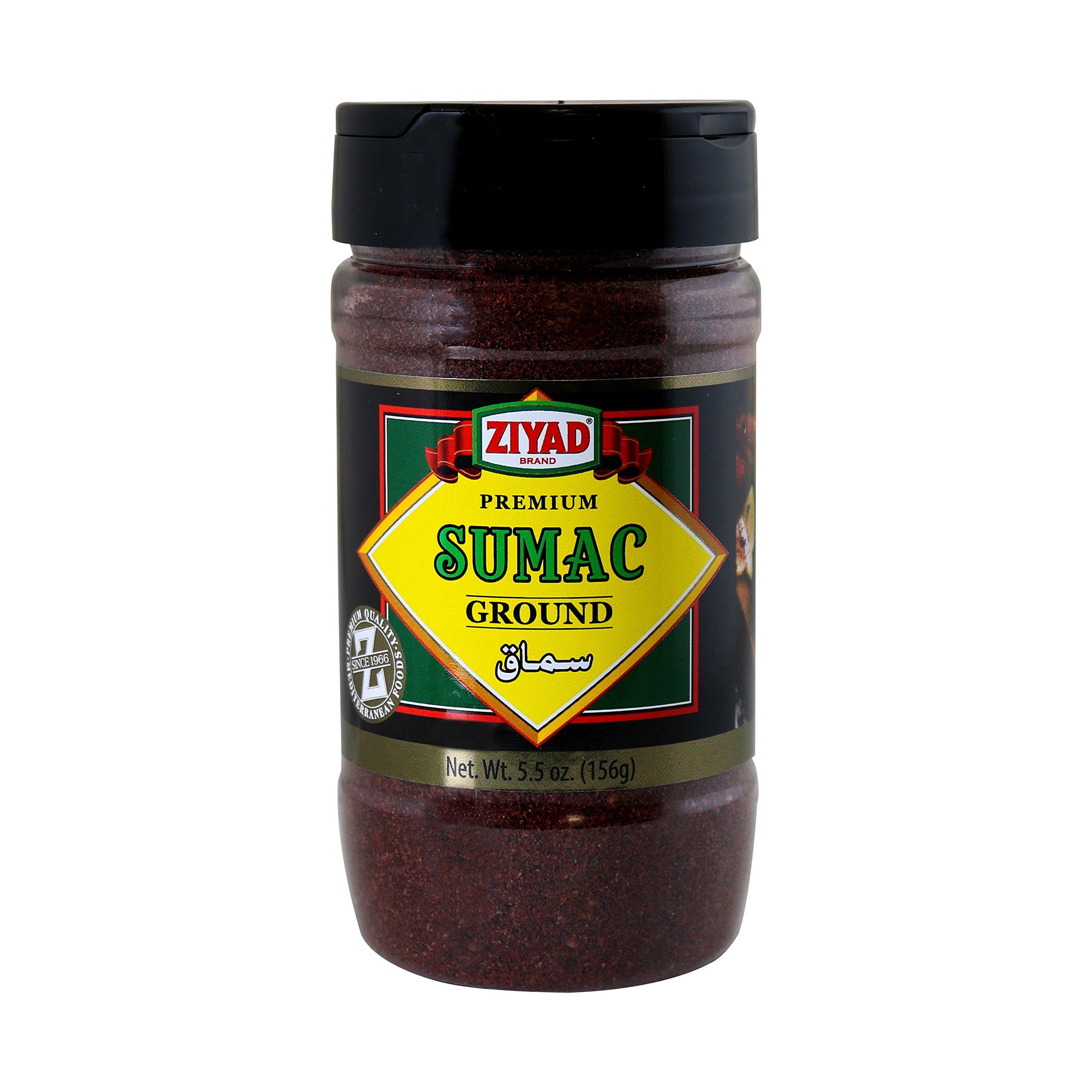 Ziyad brand Premium Ground Sumac Spice 5.5 ounce (Pack - 2)