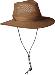 b8b257c71cc Stetson Men's Mesh Covered Hat at Amazon Men's Clothing store