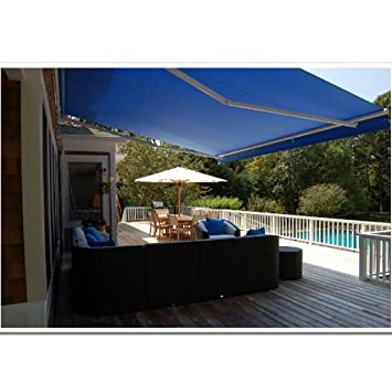 awnings patio aleko awning instructions reviews retractable installation inspirational
