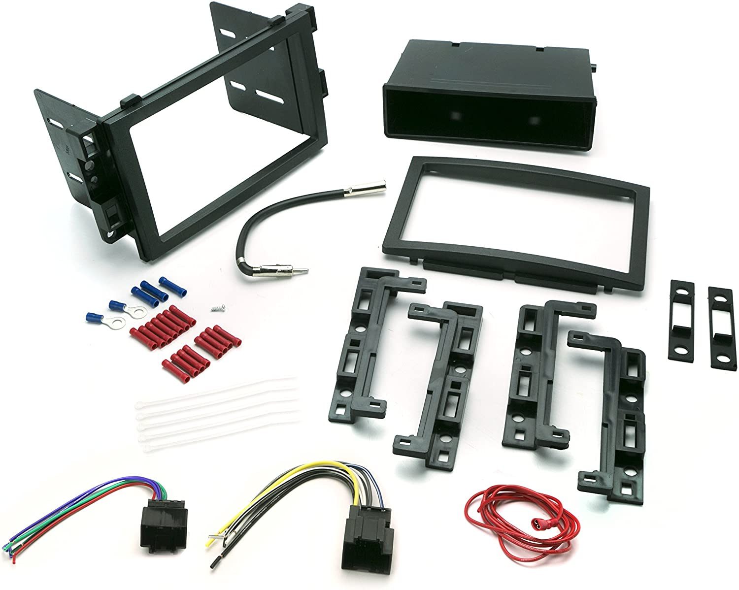 Install Centric ICGM12BNGM 2005-16 Class II Complete Installation Solution for Car Stereos