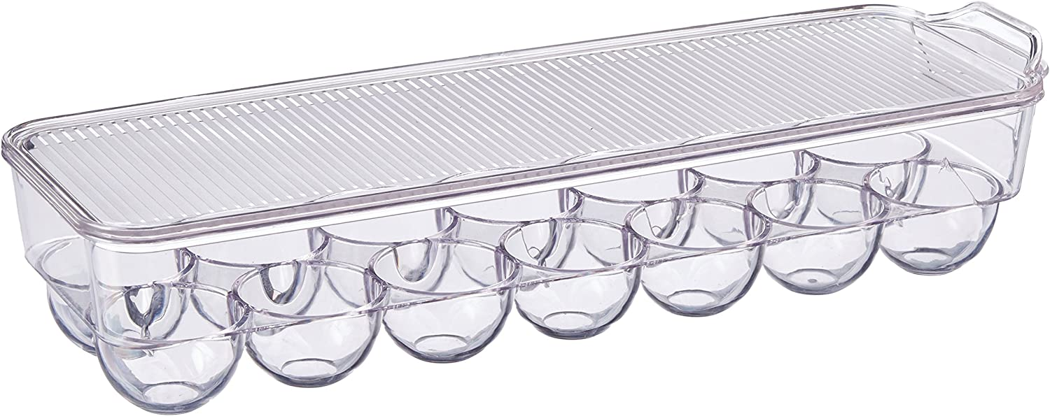 Dial Industries Refrigerator Egg Storage Container, 14 Egg Tray