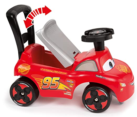 Amazon.com: Smoby 720517 Cars 3 Push Along Walker: Toys & Games
