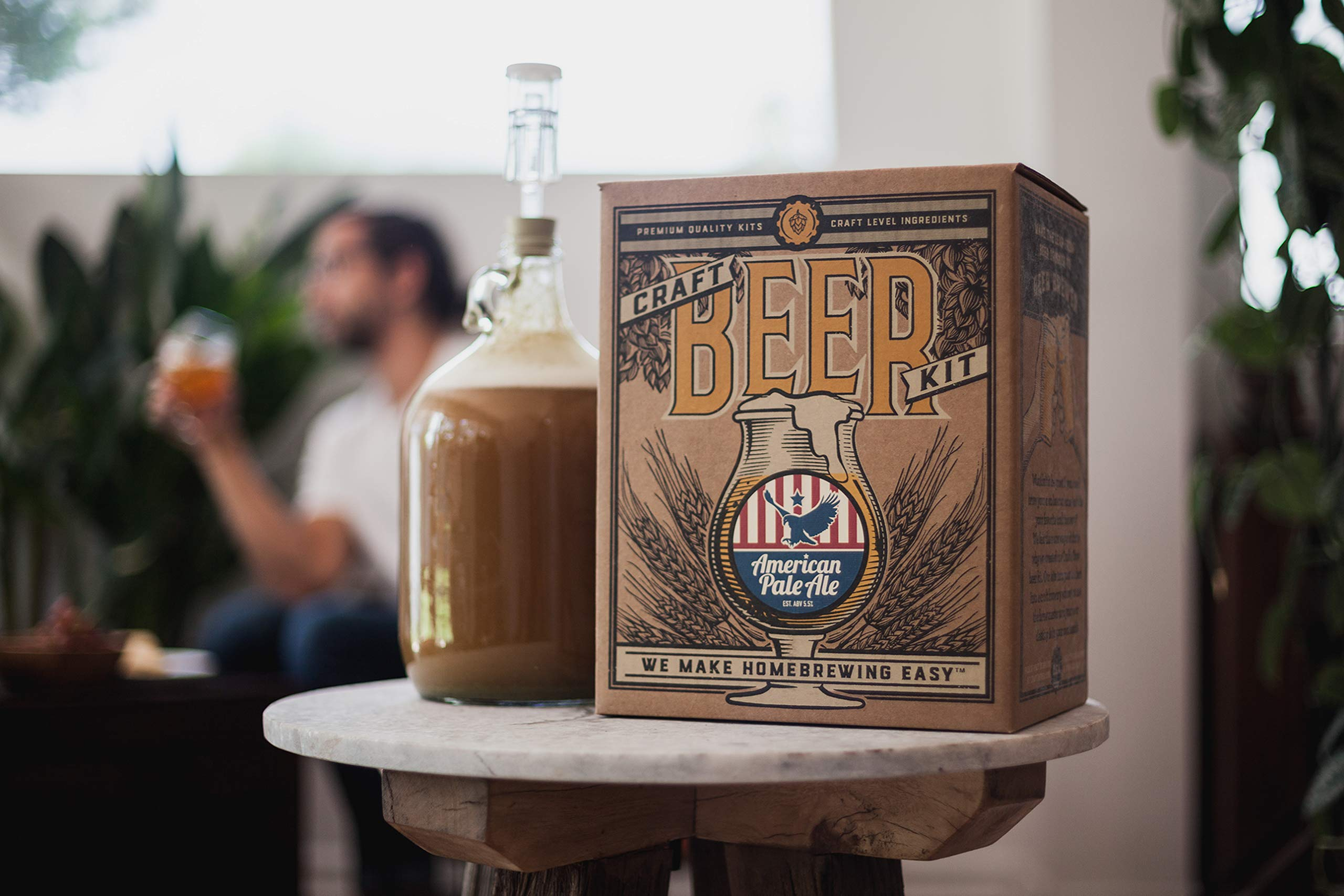 Home Brewing Kit for Beer - Craft A Brew Oktoberfest Ale Beer Kit - Reusable Make Your Own Beer Kit - Starter Set 1 Gallon by Craft A Brew (Image #4)