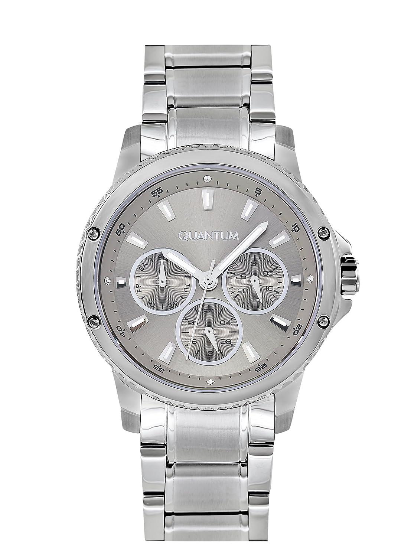 QUANTUM MÄdchen-Armbanduhr Impulse Chronograph Quarz Edelstahl IML463.370