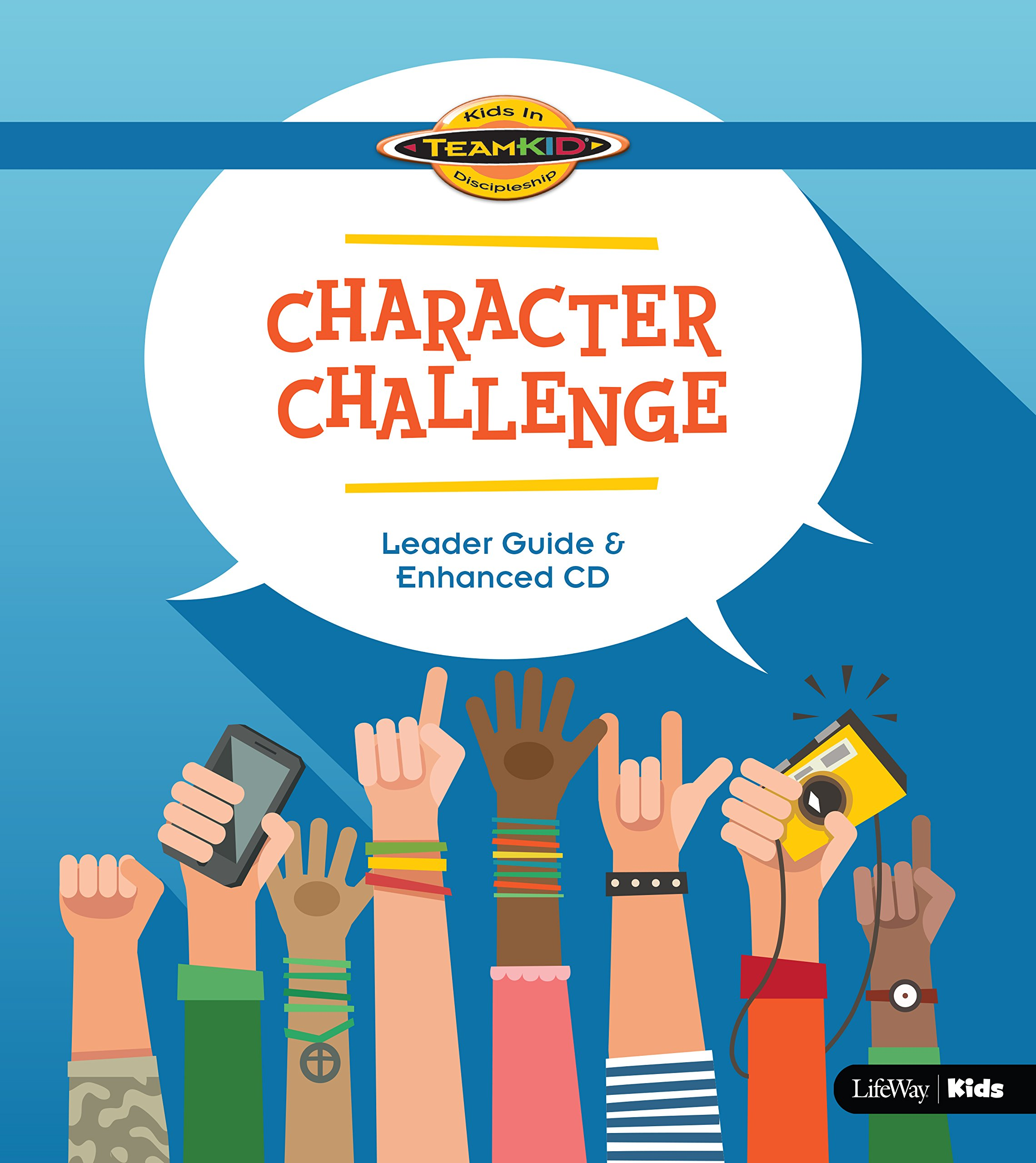 TeamKid: Character Challenge, Leader Guide, Grade 1-6 (Book & CD)