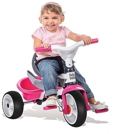 Smoby - Triciclo Baby balade, Color Rosa (444207): Amazon.es: Juguetes y juegos