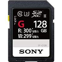 Sony 128GB UHS-II SD 128GB SDXC UHS-II Sınıf 10bellek kartı–hafıza kartı (128GB, SDXC, Sınıf 10, UHS-II, siyah)