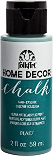 product image for FolkArt Home Décor Chalk Furniture & Craft Paint in Assorted Colors, 2 oz, Cascade