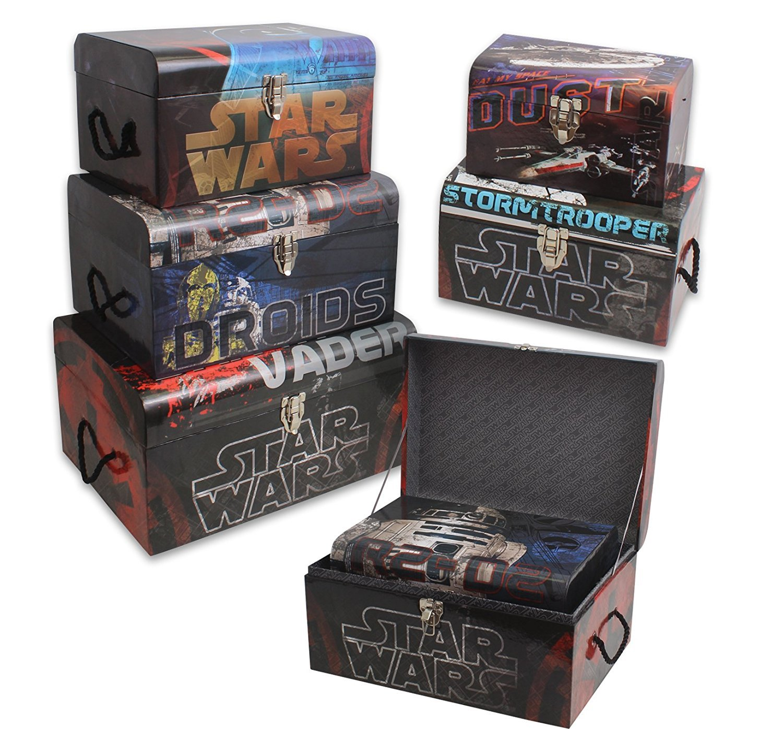 Star Wars Nesting Storage Trunk Set