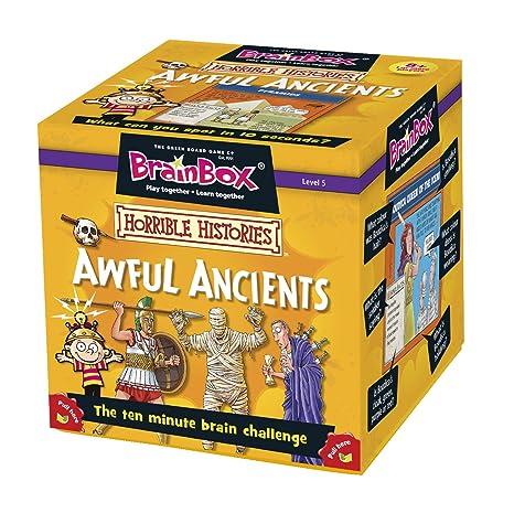 BrainBox - Awful Ancients, juego de mesa en inglés (90025): Amazon ...