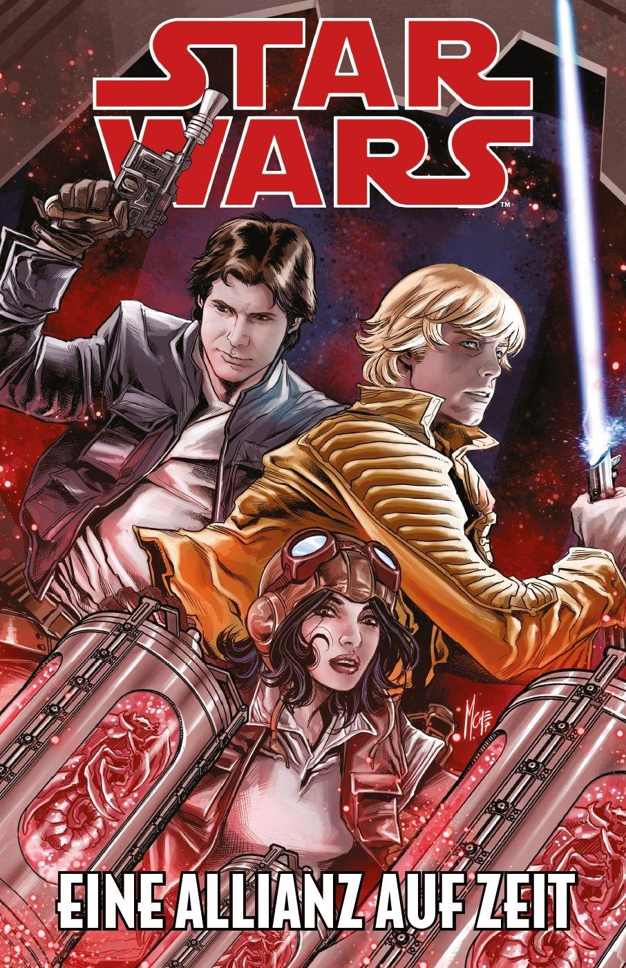 Star Wars Comics: Eine Allianz auf Zeit Taschenbuch – 23. April 2018 Jason Aaron Kieron Gillen Andrea Broccardo Salvador Larroca
