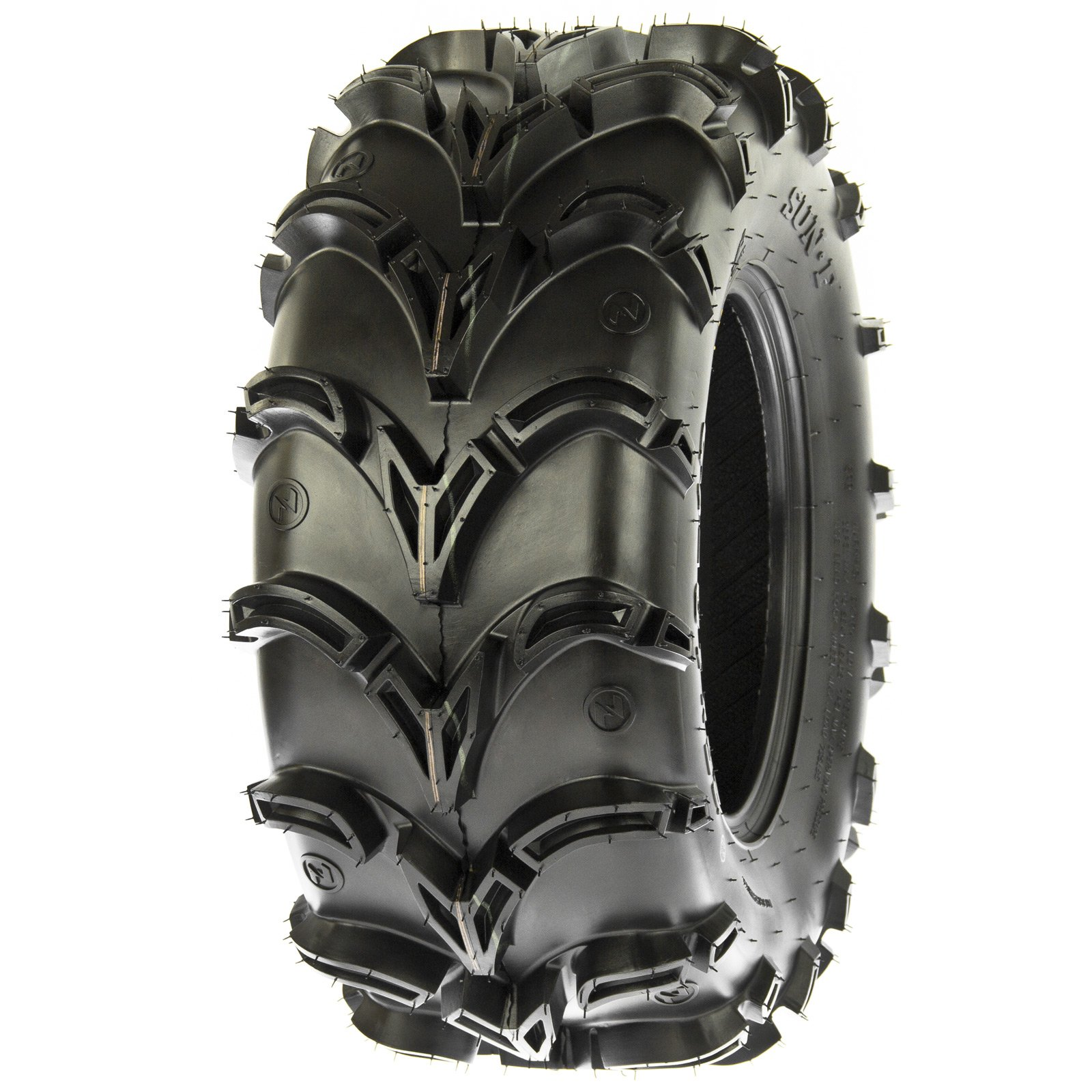 SunF A050 AT Mud & Trail 25x11-10 ATV UTV Tires, 6PR, Tubeless
