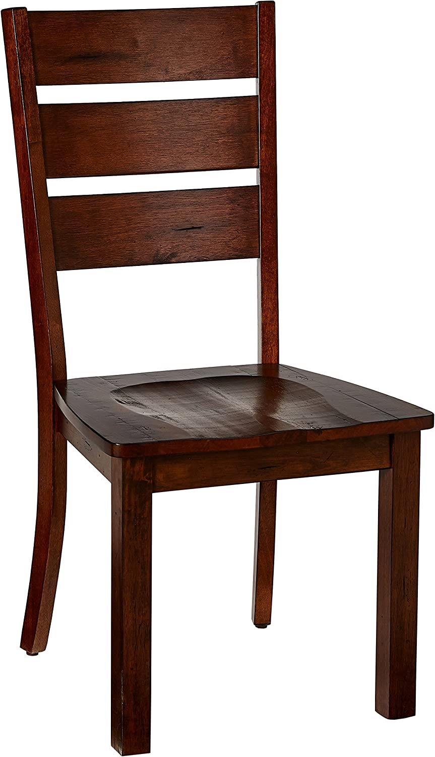 Simmons Casegoods Dining Chair, Burnished Oak
