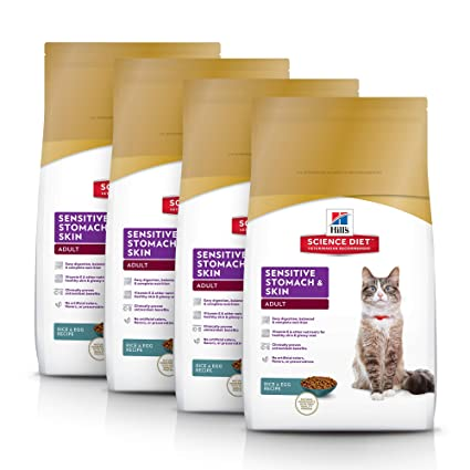 Hill'S Science Diet Cat 4-Pack Hill'S Science Diet Sensitive Stomach, 1 Pack,