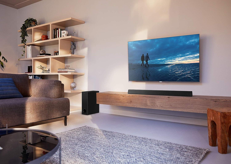 Philips Audio Barra de Sonido para TV Philips HTL3320/10 Barra de Sonido TV (Bluetooth, Dolby Audio, 300 Vatios, Subwoofer Inalámbrico, HDMI ARC, USB), Color Negro: Amazon.es: Electrónica