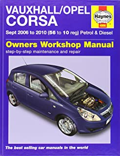 vauxhall opel corsa d owners manual handbook with wallet 2006 rh amazon co uk opel corsa opc workshop manual opel corsa d owners manual