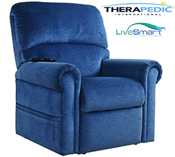 THERAPEDIC Lift Chair Recliner with Carbon Fiber Heat u0026 Sonic Massage and New CULP Live Smart  sc 1 st  Amazon.com & Amazon.com: THERAPEDIC Lift Chair Recliner with Carbon Fiber Heat ... islam-shia.org