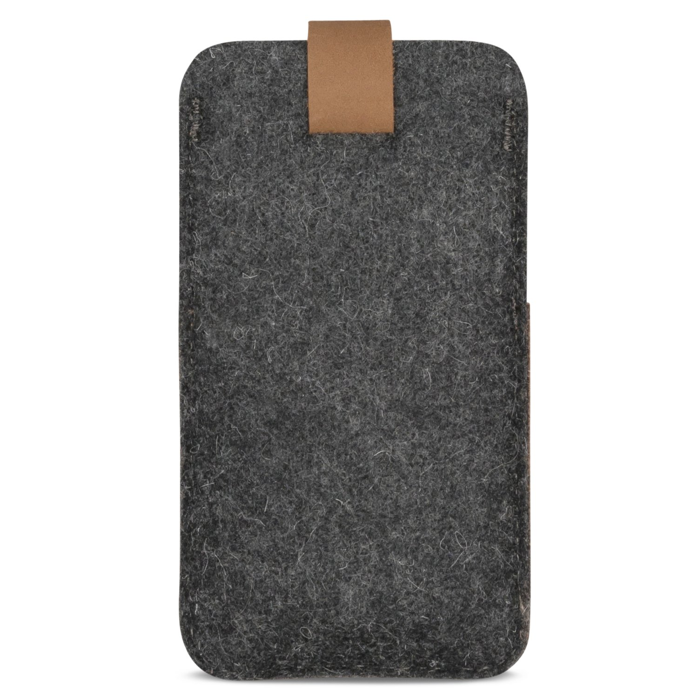 huge discount fef72 64768 KANVASA iPhone 8 / 7 / 6s / 6 Felt Leather Sleeve