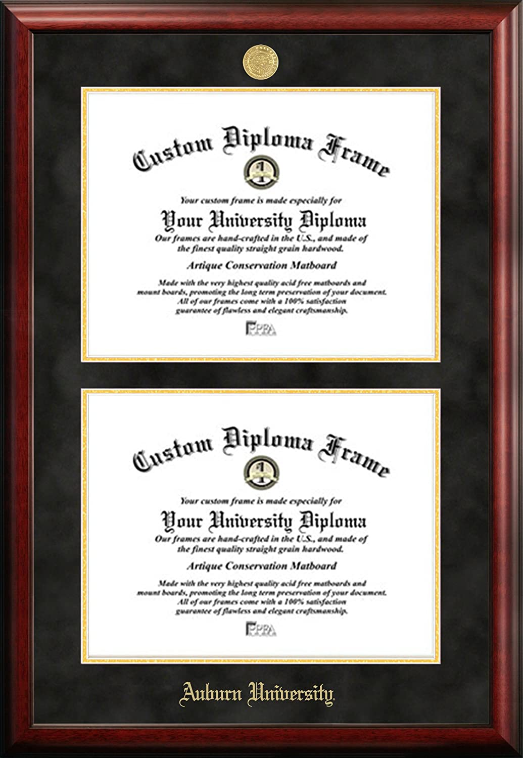 Amazon.com - Auburn University Double Degree Diploma Frame (13 X 17) -