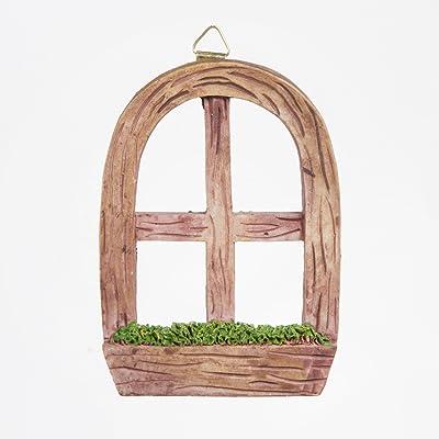 Darice Fairy Garden Window with Hanging Hook: Home & Kitchen