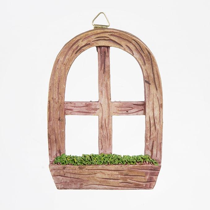 Darice Fairy Garden Window with Hanging Hook