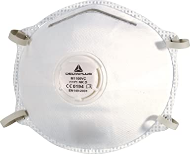 maschera antipolvere filtrante