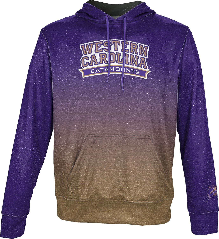 Western Carolina University Womens Pullover Hoodie Heathered School Spirit Sweatshirt