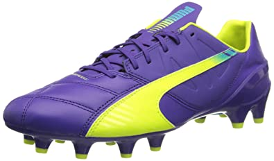 cc272641aa4 PUMA Men s Evospeed 1.3 Leather Firm Ground Soccer Shoe