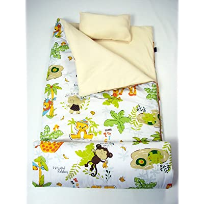 SoHo Kids Sleeping Bag 50 Degree, Jungle Animal: Home & Kitchen