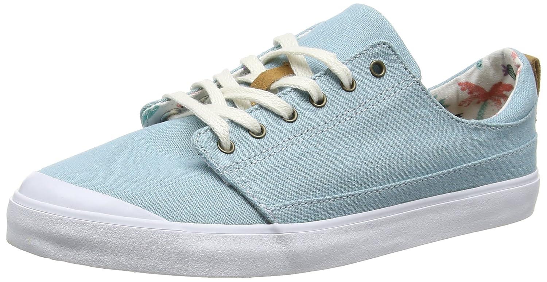 Reef Women's Girls Walled Low Fashion Sneaker B01GQP4XXM 10 B(M) US|Steel Blue