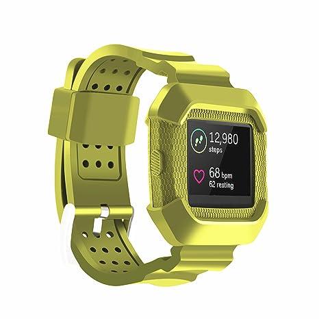 Pulsera para reloj inteligente Fitbit Blaze, accesorio, verde militar