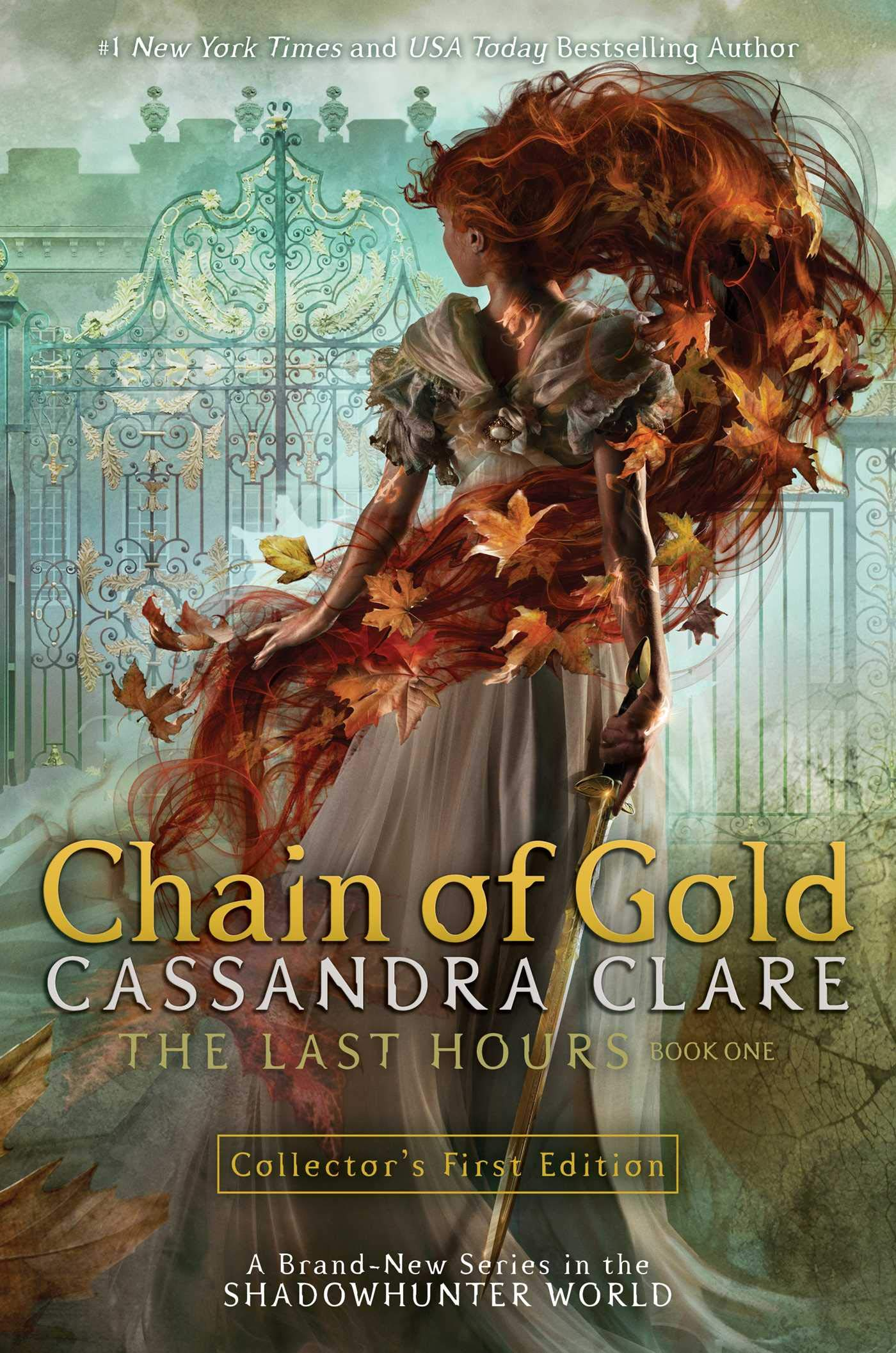 Amazon.com: Chain of Gold (1) (The Last Hours) (9781481431873 ...