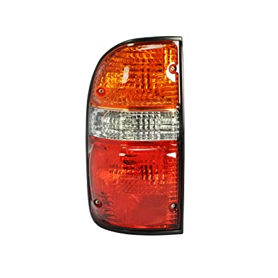 Left Driver Side Tail Light Lamp for 2001-2004 Toyota Tacoma TO2800139 8156004060 - Include the bulb: Automotive