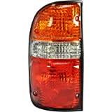 Dependable Direct Driver Side (LH) Tail Light Lamp Compatible with 2001-2004 Toyota Tacoma TO2800139 8156004060 - Include the