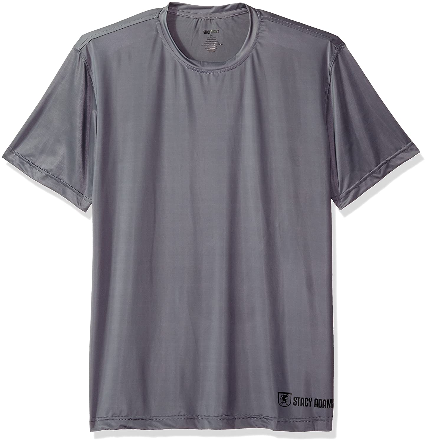 STACY ADAMS Men's Regular Crew Neck Tee Stacy Adams Men's Basics SA1500REG