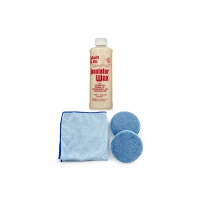 Collinite 845 Insulator Wax Microfiber Towel and Applicator Combo (color may vary): Automotive