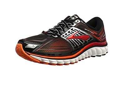 Brooks Glycerin 13, Men's Running Shoes, Black/Red/Silver