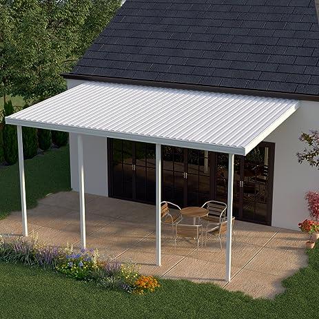 aluminum patio covers. Unique Aluminum Heritage Patios 14 Ft X 12 White Aluminum Patio Cover 4 Posts For Covers