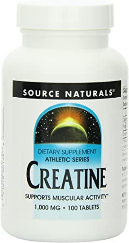 Source Naturals Creatine 1000mg, 100 Tablets