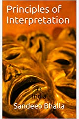 Principles of Interpretation in India: (with Latin Maxims) Kindle Edition