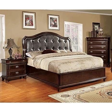 Amazon.com: Furniture of America Crown 3-Piece Platform ...
