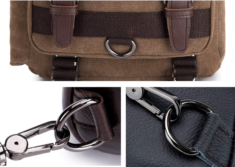 BIKICOCO Metal D Rings Hooks Buckle Strap Adjuster for Purse Pack of 10 Webbing 2x1.25 Inch Inside Dimensions Shoulder Backpack Belt Bag Pet Collars Gunmetal