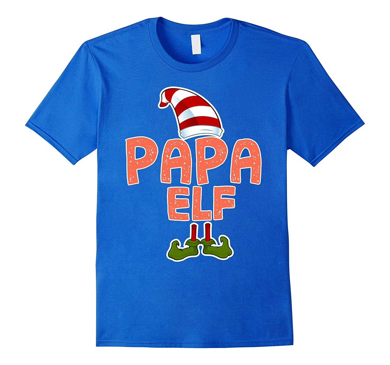 Papa Elf T-Shirt Funny Merry Christmas Costume Gift Shirt-mt