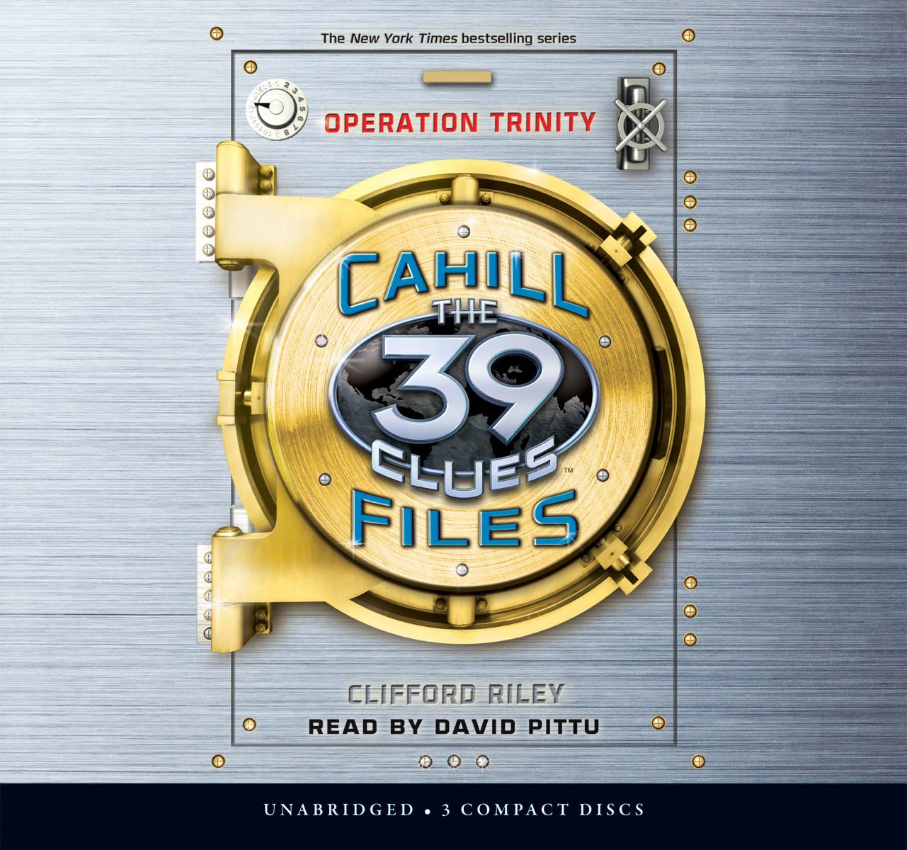 Operation Trinity (The Cahill Files, Book 1) - Audio Library Edition