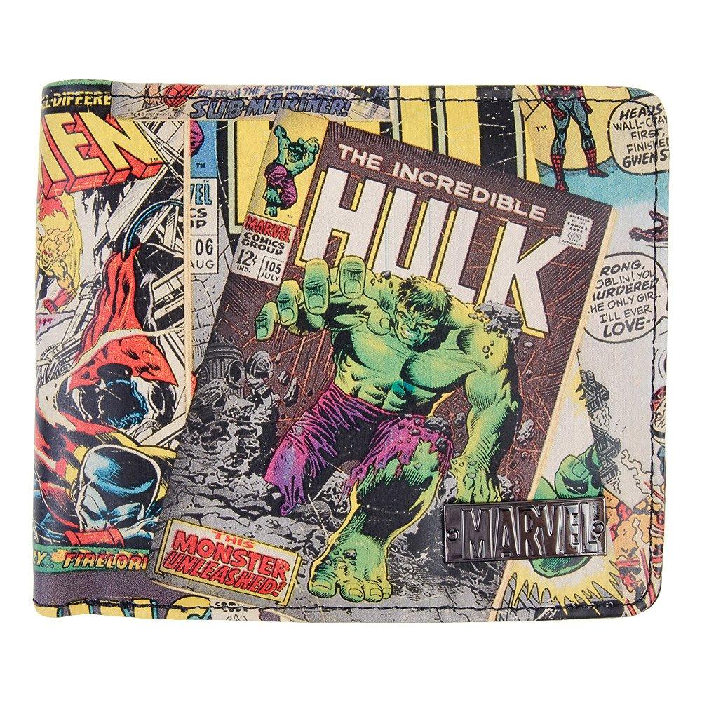Cartera Marvel Comic Print (Multicolor): Amazon.es: Zapatos y complementos