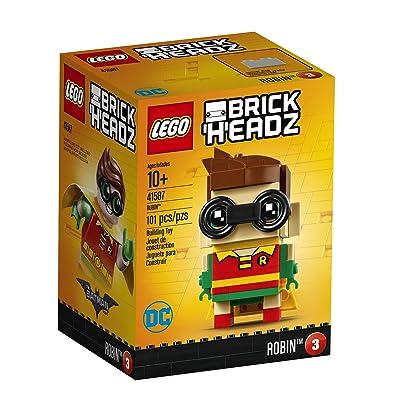 LEGO BrickHeadz Robin 41587 Building Kit: Toys & Games