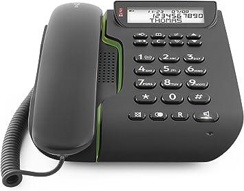 Doro Comfort 3000 - Teléfono fijo fácil de usar, color negro [Importado de Reino Unido]: Amazon.es: Electrónica