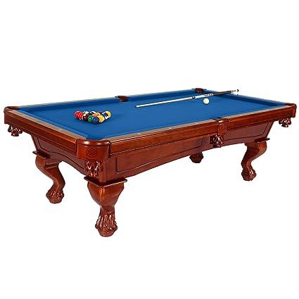 Amazoncom Harvil Bellagio Slate Pool Table Foot With Blue Felt - Bellagio pool table