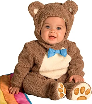 Rubies 885356 - Disfraz de Oso para niños, talla bebé 1-2 años ...